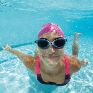 Person Happy Under The Water