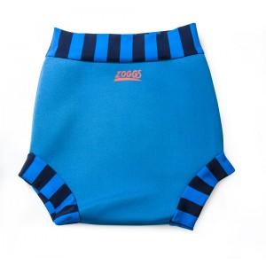 zoggs swim sure nappy blue
