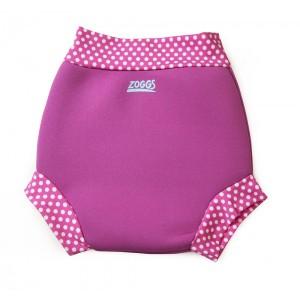 zoggs swim sure nappy pink