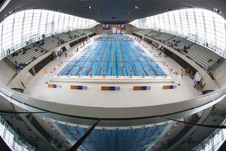 Swimathon at London Aquatics Centre in the Olympic Park 23/3/14