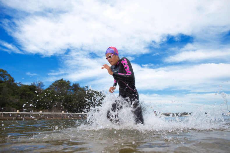 wetsuits for triathlons from Zoggs