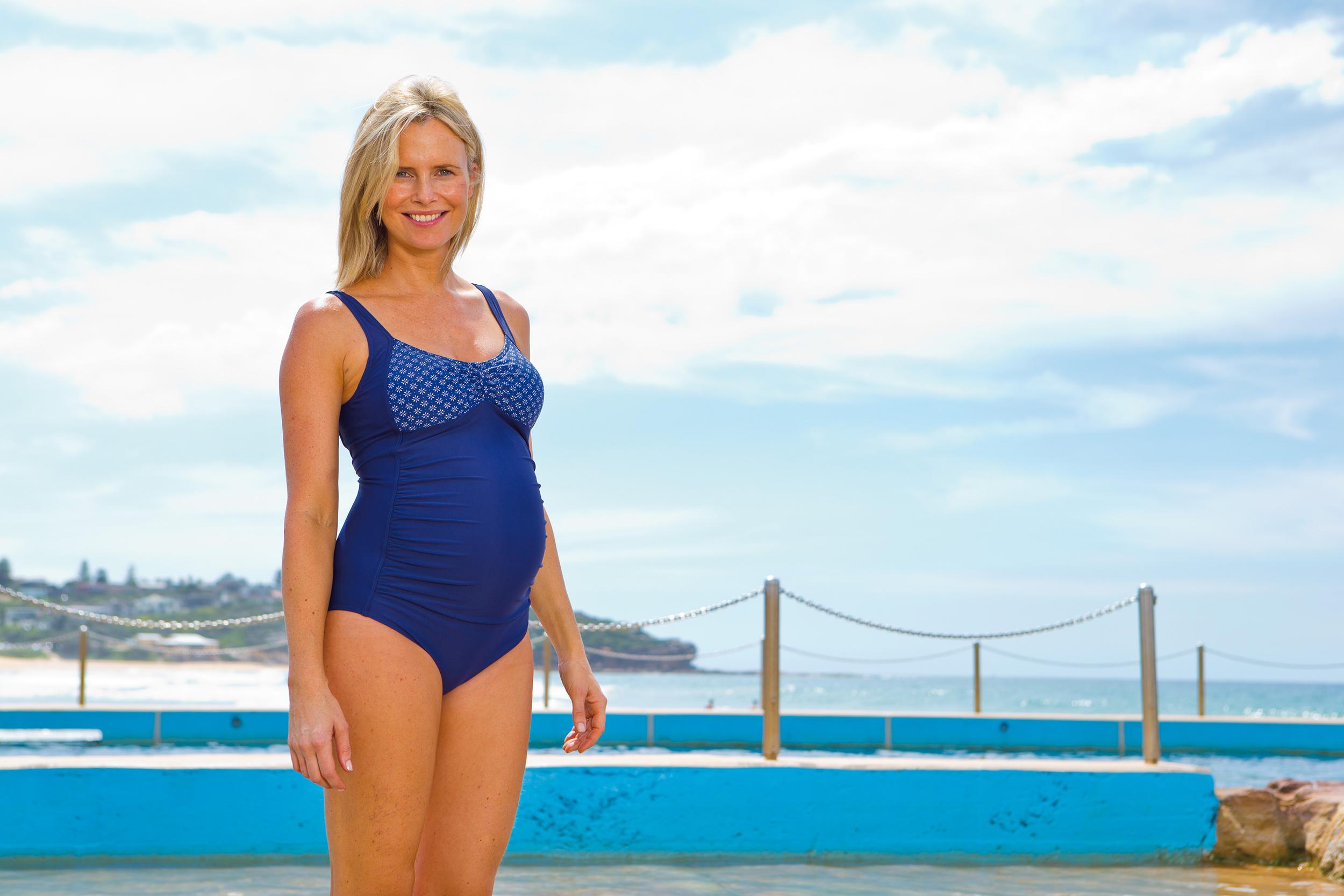 Brighton Maternity Scoopback Swimsuit