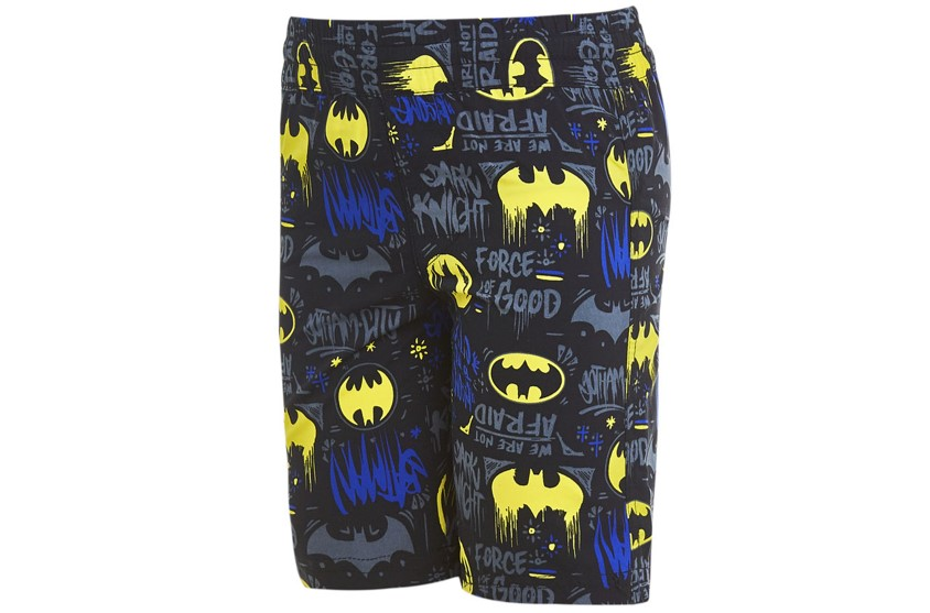 Batman printed shorts crop