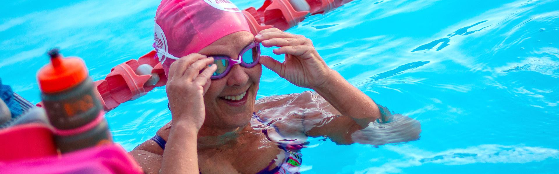 Learn to swim like a superhero