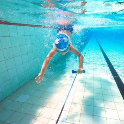Building water confidence with pool games