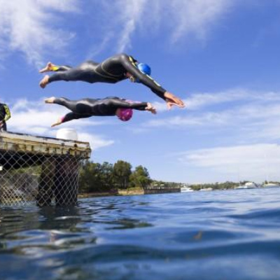 Channel Swimming