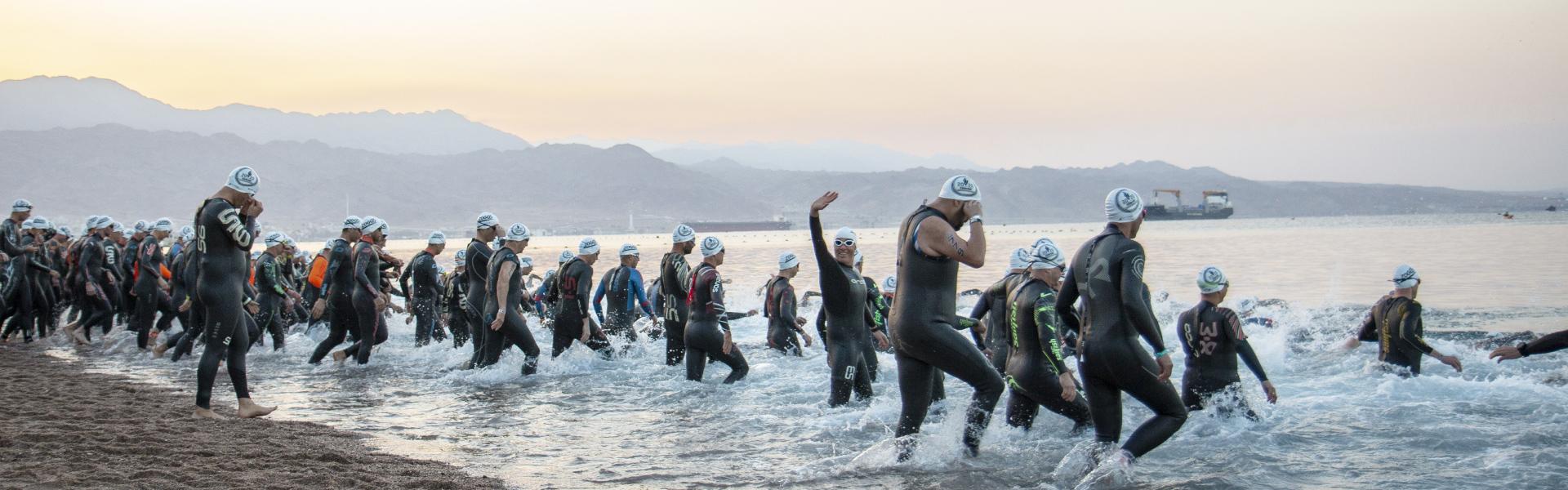 The best festive swims 2018