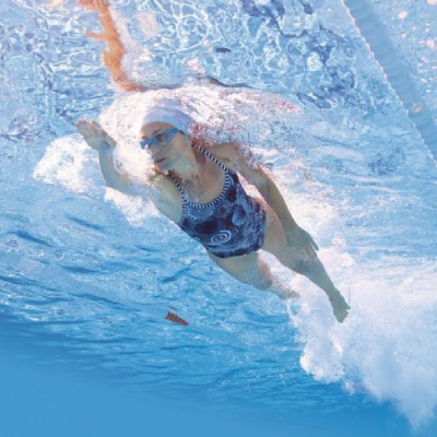 Improve your heart health with swimming