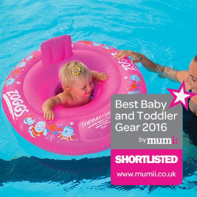 Miss Zoggy Trainer Seat Shortlisted in the Best Baby Toddler Gear Awards 2016