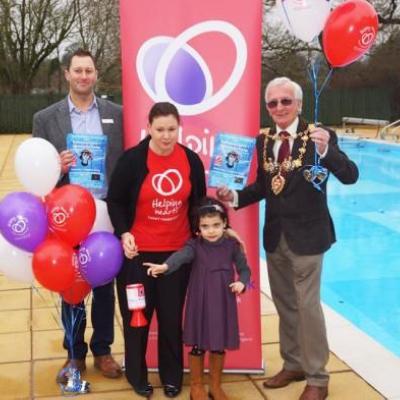 Rosanna's Sponsored Swim