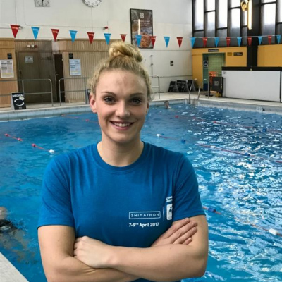 Swimathon Q&A with Marie Curie Ambassador and Team GB swimmer: Ellie Faulkner