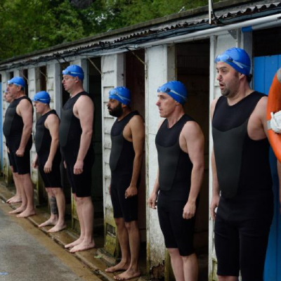 Swimming With Men comes to cinemas this July
