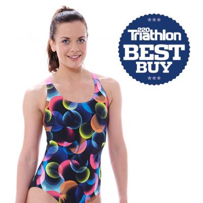 Zoggs Galaxy Flyback Swimsuit Awarded 'Best Buy' from 220 Triathlon Magazine