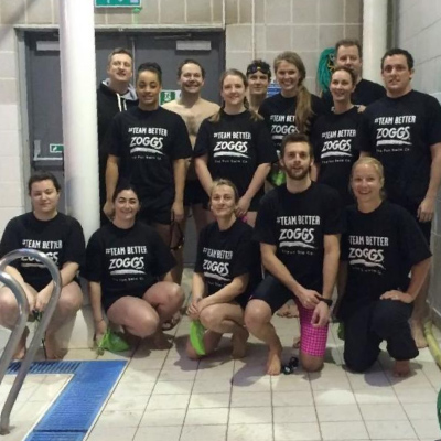 Zoggs Swim Diaries: Day 1 of the Sport Relief 2016 #TeamBetter Challenge