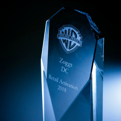 Zoggs wins Warner Brothers retail activation award