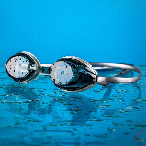 Plastic bottle swimming in the sea