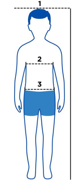 Boys Measuring Guide